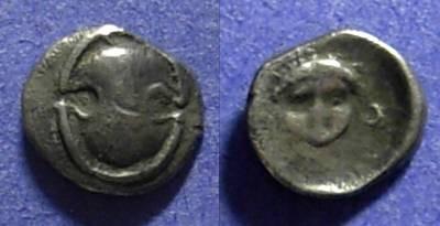 Ancient Coins - Koroneia Boeotia 400-350 BC Obol