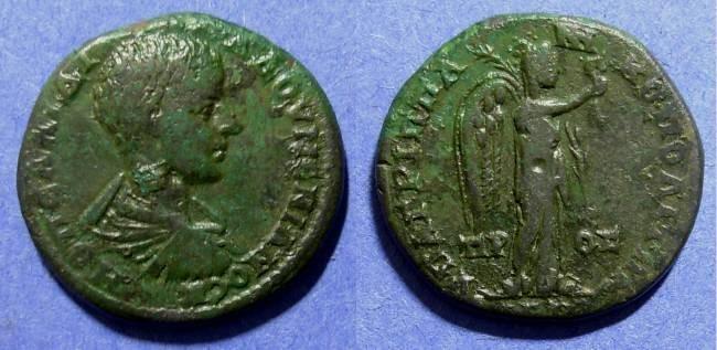 Ancient Coins - Moesia Inferior - Nikopolis, Diadumenian 217-8, AE25