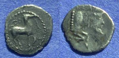 Ancient Coins - Gela Sicily – Litra : 465-450BC