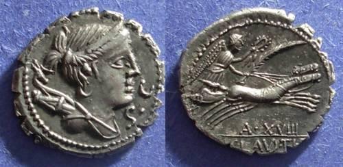 Ancient Coins - Roman Republic, Ti Claudius Ti f AP n Nero 79 BC, Denarius