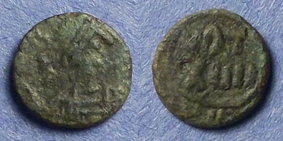 Ancient Coins - Byzantine Empire, Justinian I 527-565, Nummis, Rare Type