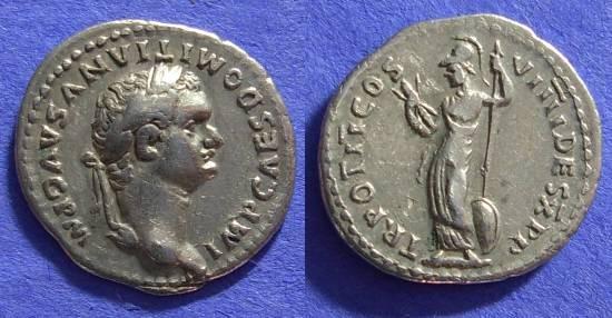 Ancient Coins - Domitian 81-96AD Denarius
