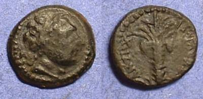 Ancient Coins - Antiochos III 223-187BC AE14 of Tyre