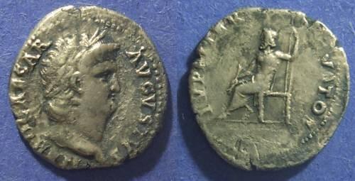 Ancient Coins - Roman Empire, Nero 54-68 AD, Denarius