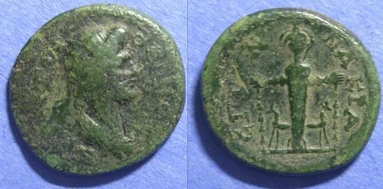 Ancient Coins - Nacrasa, Lydia 98-180 AD, AE23