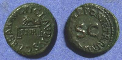 Ancient Coins - Claudius 41-54 – Quadrans