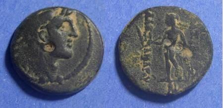 Ancient Coins - Seleucid Kingdom, Alexander I Balas 150-145 BC, AE18