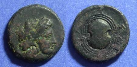 Ancient Coins - Salamis  350-318 BC AE16
