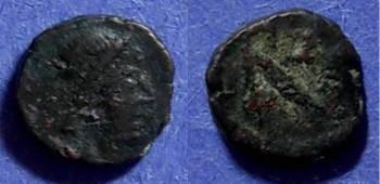 Ancient Coins - Roman Empire, Zeno 457-474, AE4