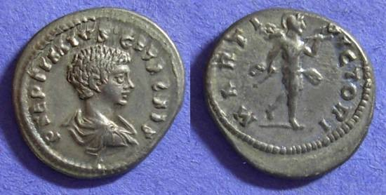 Ancient Coins - Geta (as Caesar) 198-208AD – Denarius