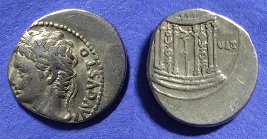 Ancient Coins - Augustus 27BC – 14AD Denarius