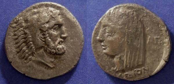 Ancient Coins - Carian Islands, Kos Circa 340 BC, Didrachm
