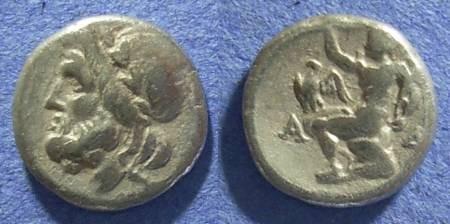 Ancient Coins - Arkadian League,  175-168 BC, Hemidrachm