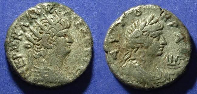 Ancient Coins - Roman Egypt, Nero 54-68 AD, Tetradrachm