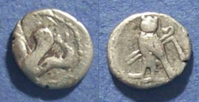 Ancient Coins - Tyre, Phoenicia Circa 350 BC, 1/24 Shekel