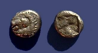 Ancient Coins - Aeolis Kyme Circa 500-475 BC Obol