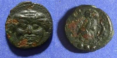 Ancient Coins - Kamarina, Sicily 425-405 BC, Trias