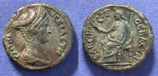 Ancient Coins - Roman Egypt - Sabina (Wife of Hadrian) 117-137 - Tetradrachm of Alexandria
