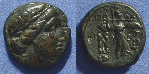 Ancient Coins - Thessalian League AE18 196-146BC