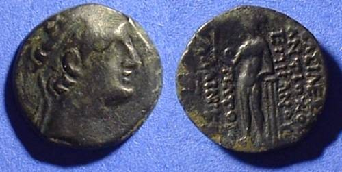 Ancient Coins - Seleucid Kingdom - Antiochos XII 88-84BC  AE18