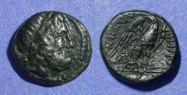 Ancient Coins - Macedonia, Amphipolis Circa 50 BC, AE18