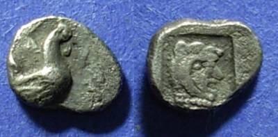 Ancient Coins - Dikaia, Thrace 480-450 BC, Trihemiobol