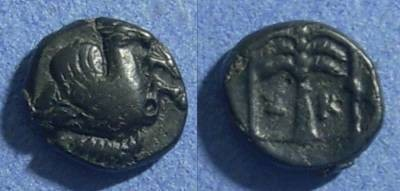 Ancient Coins - Troas, Skepsis 197-188 BC, AE11