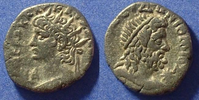 Ancient Coins - Roman Egypt - Nero 54-68AD - Billon Tetradrachm