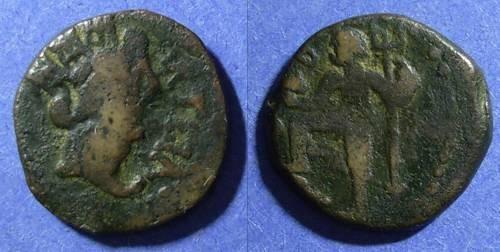 Ancient Coins - Spain, Carteia 1st Cent BC, AE20