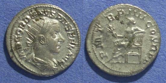 Ancient Coins - Roman Empire, Gordian III 238-244 AD, Antoninianus