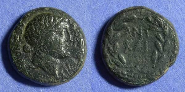 Ancient Coins - Thessalonika Macedonian – Marc Antony & Octavian 41-40 BC – AE23