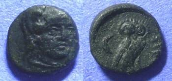 Ancient Coins - Sigeion Troas – AE 12 Circa 350BC
