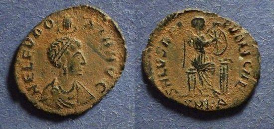 Ancient Coins - Roman Empire, Eudoxia 400-404, AE3