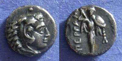 Ancient Coins - Pergamon, Mysia 310-284 BC, Diobol
