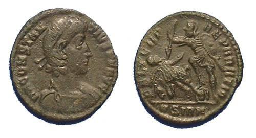 Ancient Coins - Constantius II 337-361 AD  1/2 Centenionalis