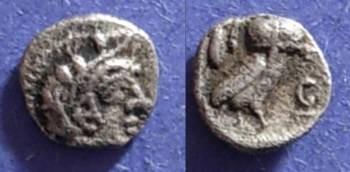 Ancient Coins - Athens, Attica 449-413 BC, Hemiobol