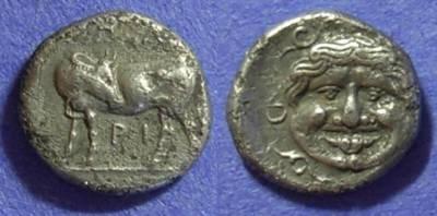 Ancient Coins - Parion Mysia – Hemidrachm: 350-300 BC