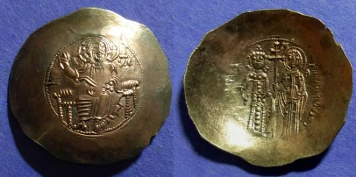 Ancient Coins - Byzantine Empire, Manuel 1143-1180, Aspron Trachy