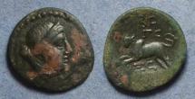 Ancient Coins - Phoenicia, Sidon 78-45 BC, AE20