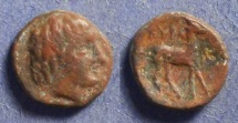 Ancient Coins - Kyrene, Kyrenaica Circa 320 BC, AE11