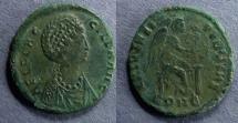 Ancient Coins - Roman Empire, Aelia Flaccilla 379-383, AE2