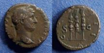 Ancient Coins - Roman Empire, Hadrian 117-138, Quadrans