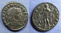 Ancient Coins - Roman Empire, Maximinus II (as Caesar) 305-9, Follis