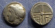 Ancient Coins - Gaul, Massalia 350-212 BC, Obol