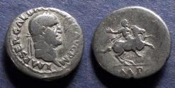 Ancient Coins - Roman Empire, Galba 68-9, Denarius