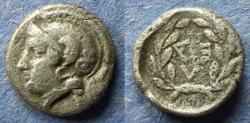 Ancient Coins - Aiolis, Elaia Circa 300 BC, Obol