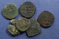 Ancient Coins - Arab Byzantine,  , 6 Fals