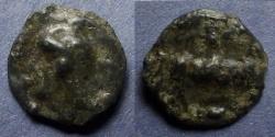 Ancient Coins - Sequani (?) Gaul – Potin 18mm Circa 40 BC