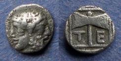 Ancient Coins - Islands off Troas, Tenedos 450-380 BC, Obol