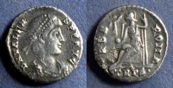 Ancient Coins - Roman Empire, Valens 364-378, Siliqua